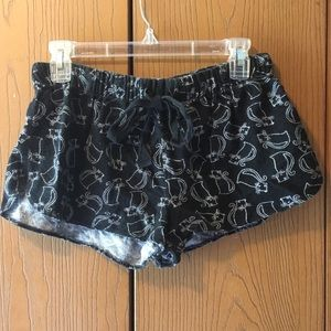 ⭐️ FREE ADD ON Forever 21 Cat PJ Shorts